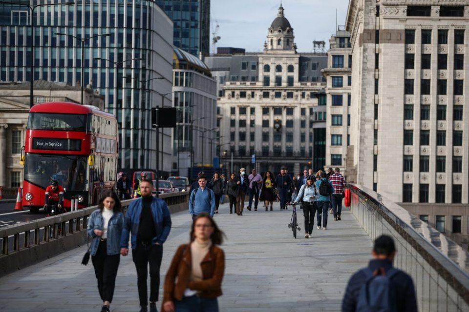london business confidence