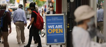 New York City Prepares For Phase 2 Reopening Of Economy Next Week