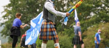 Rally For Independence Takes Place At Famous Battle Site