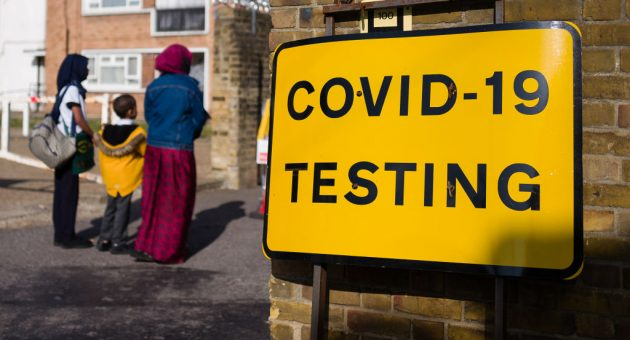 UK coronavirus 'R' rate rises to between 1.1 and 1.4