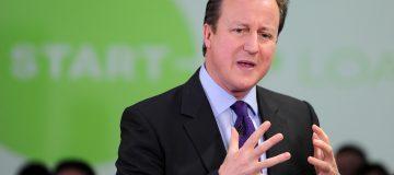 UK Prime Minister David Cameron Visits The North West