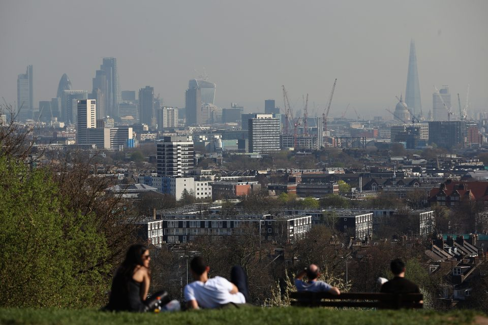Views Of The Ever Changing London Skyline