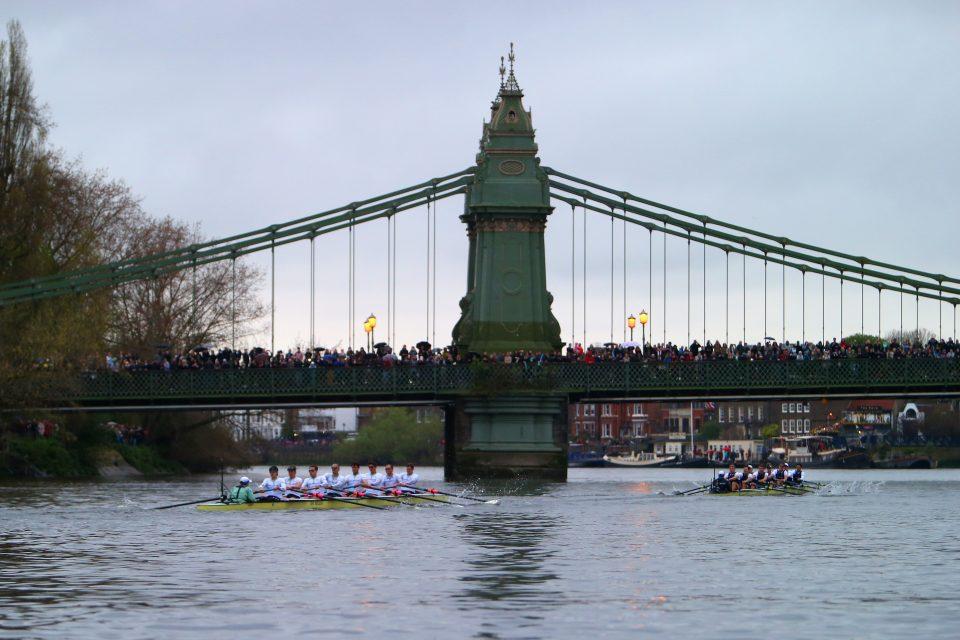 BNY Mellon Oxford v Cambridge University Boat Race 2014