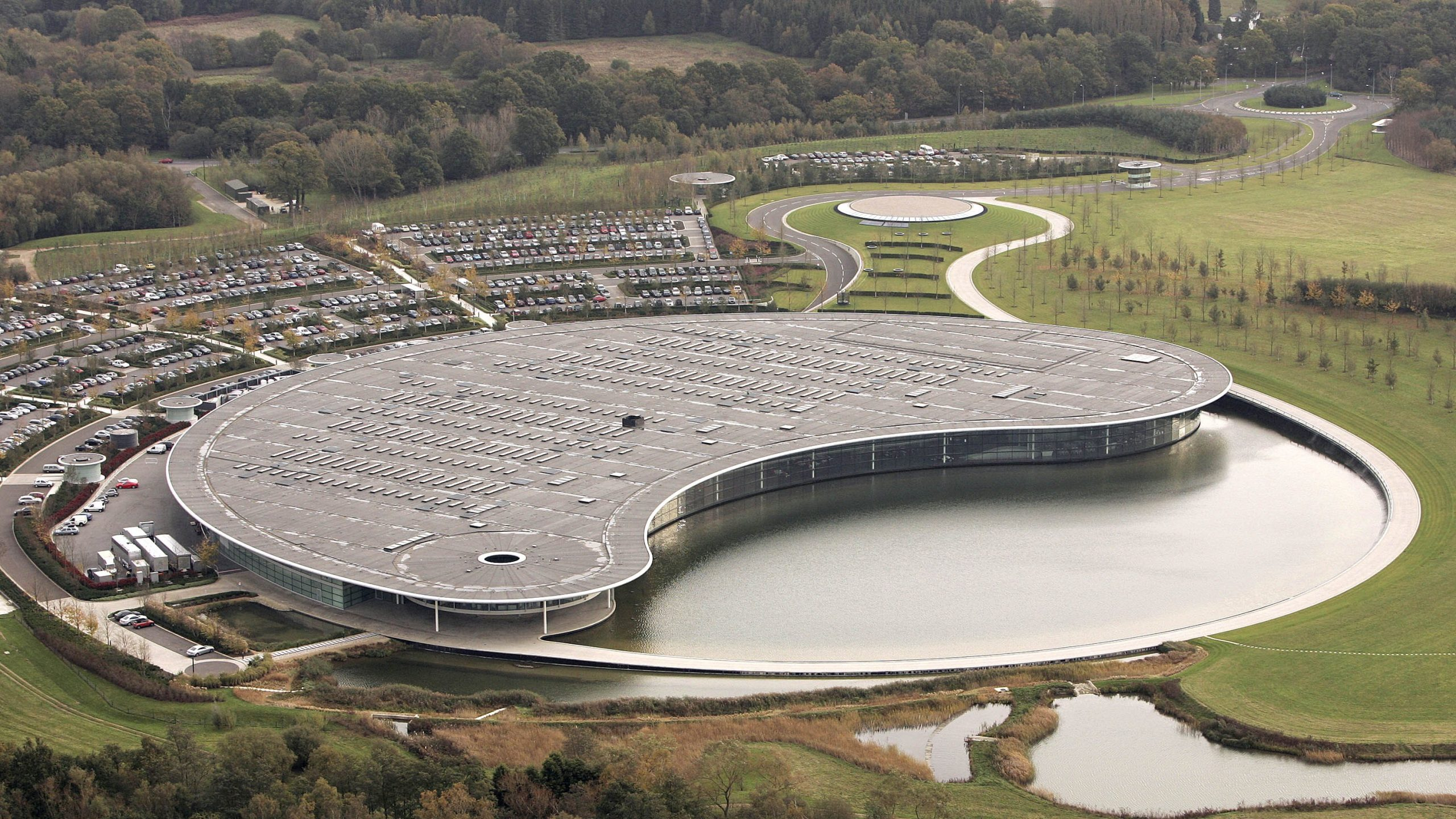 McLaren puts iconic Woking HQ up for sale for £200m