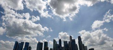 TOPSHOT-SINGAPORE-ECONOMY