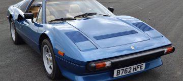 Iggy Pop's classic Ferrari up for auction