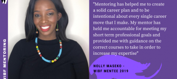 Seeking Mentors for the WIBF Mentoring Programme