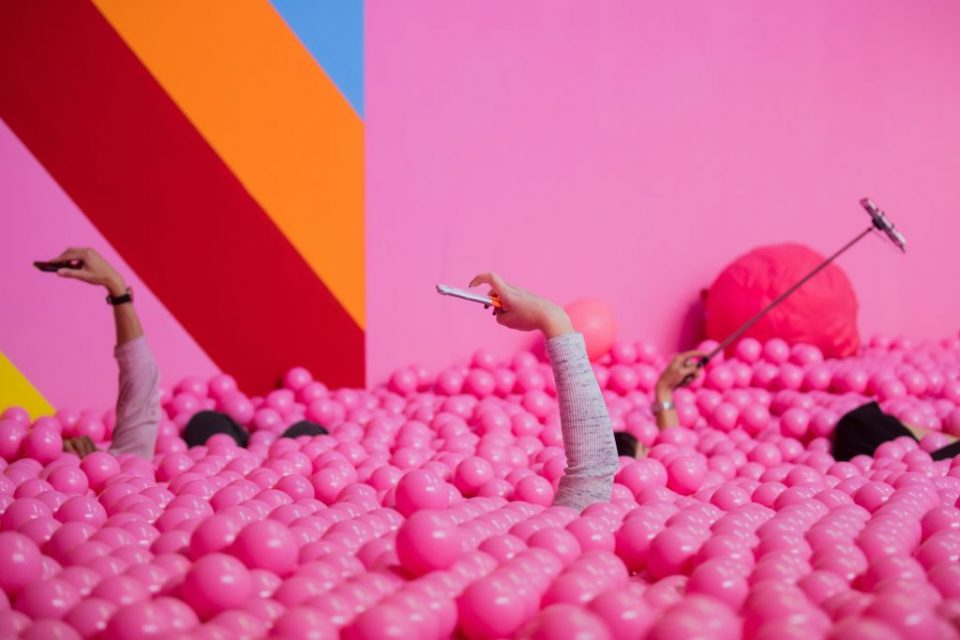 GERMANY-SOCIAL-MEDIA-EXHIBITION-SUPERCANDY-POP-UP