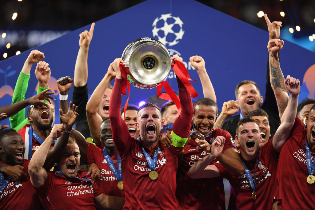 Liverpool win the 2019 Champions League