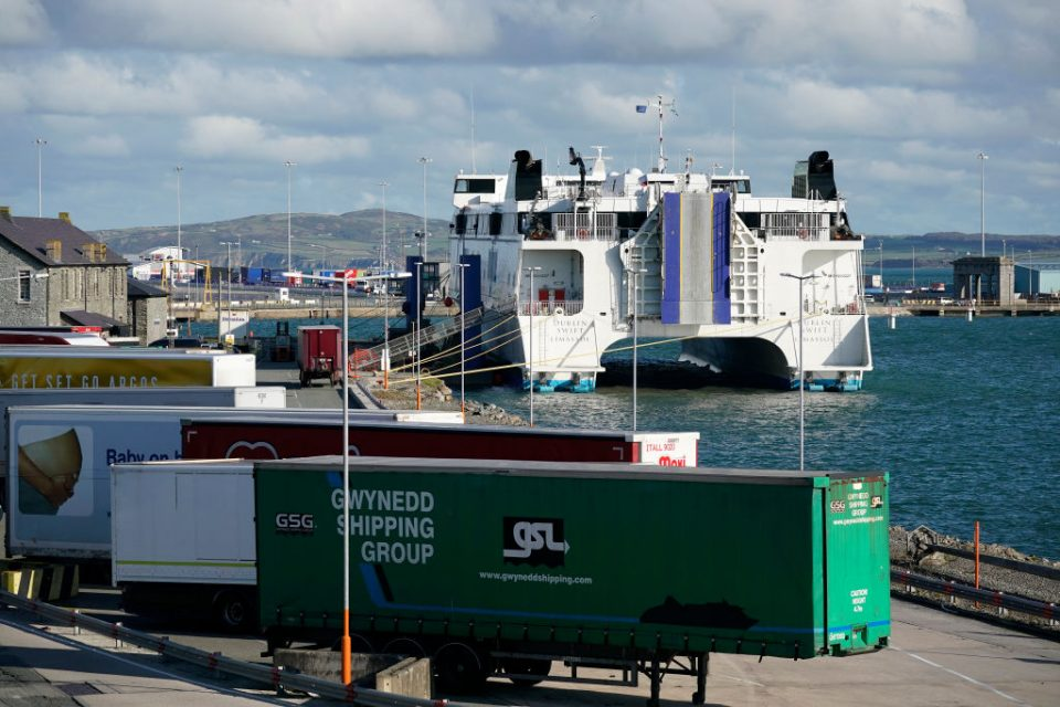 Four ferry firms have signed contracts with the Department for Transport (DfT) worth a combined £77.6m to provide freight services after Brexit.
