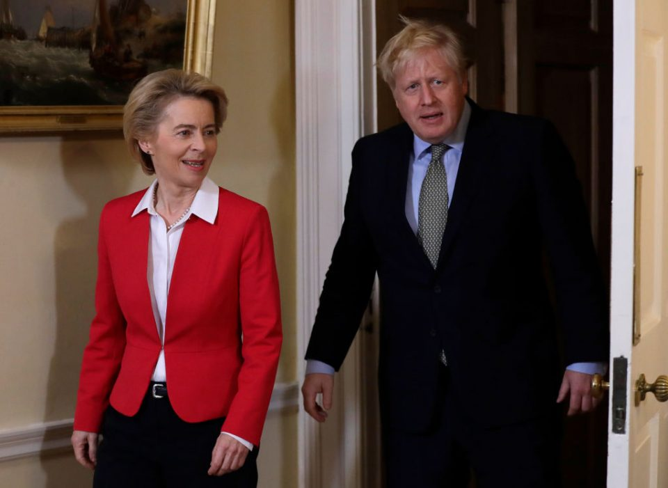 Brexit talks back on: Boris Johnson and Ursula von der Leyen agree to  resume trade deal negotiations - CityAM : CityAM