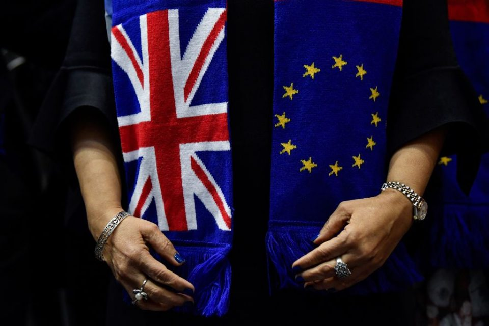 TOPSHOT-BELGIUM-BRITAIN-EU-POLITICS-BREXIT