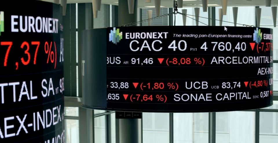 euronext glitch outages