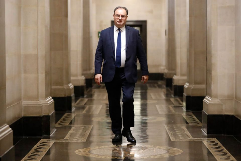 Bailey says Bank of England 'not there yet' on negative interest rates
