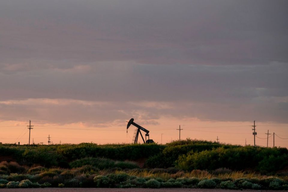 Global oil prices dropped sharply this afternoon amid fears that the continuing rise in coronavirus cases would drive demand down again.