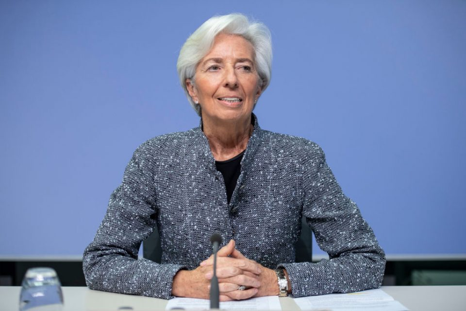 Christine Lagarde European Central Bank ECB Eurozone economy