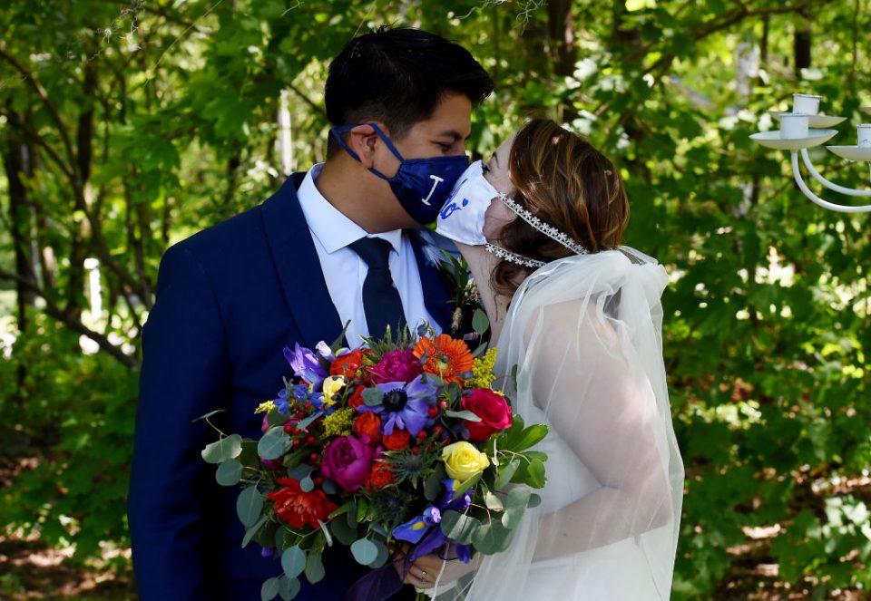 US-HEALTH-VIRUS-WEDDING