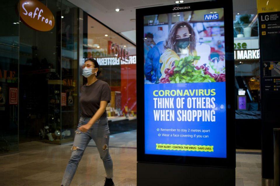 BRITAIN-HEALTH-VIRUS-RETAIL
