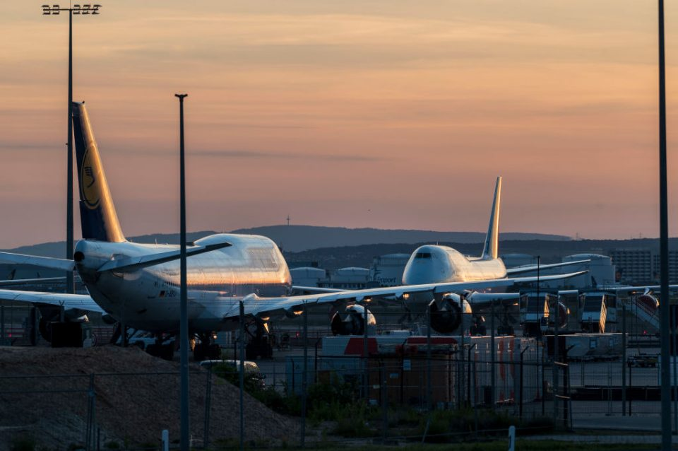No commercial aircraft were ordered last month as the global aviation industry recorded its worst ever quarter on record due to the coronavirus pandemic.