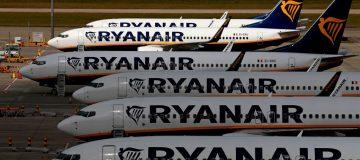 BRITAIN-TRANSPORT-AVIATION-RYANAIR