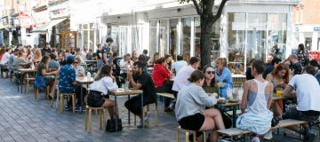 Exclusive: London restaurant spend topped 2019 before new restrictions