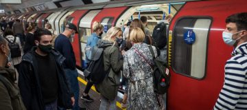 There were more journeys made on the Tube last week than at any point since the beginning of lockdown in March,