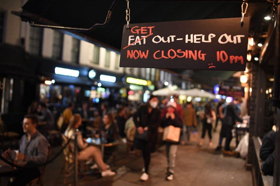 Coronavirus Pub Curfew Begins At 10pm Tonight