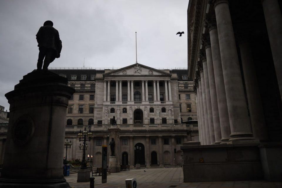 Bank Of England negative Interest Rates negative rates boe