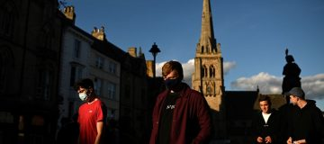 Is the coronvirus rate falling across England?