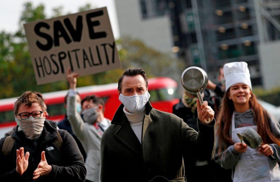 BRITAIN-HEALTH-VIRUS-HOSPITALITY