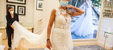 Wedding Dress Rehearsal Amid COVID-19 Pandemic