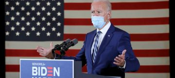 Democratic Presidential Nominee Joe Biden Campaigns In Florida