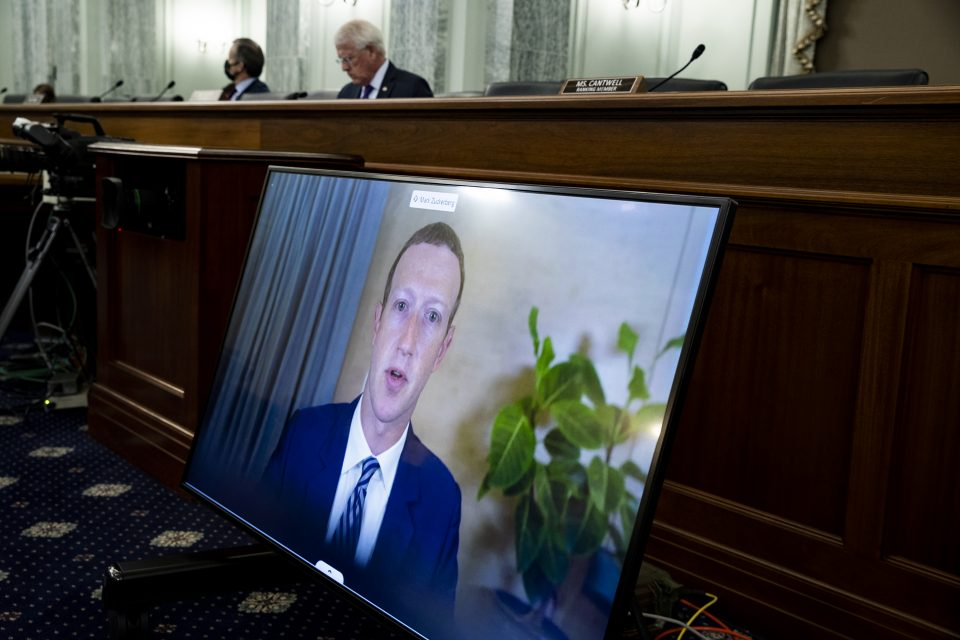 Big Tech CEO's Testify Before Senate On Section 230 Immunity
