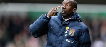 Jimmy Floyd Hasselbaink has been biding his time since leaving Northampton in 2018