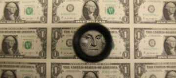Almost a fifth of US dollars were created this year