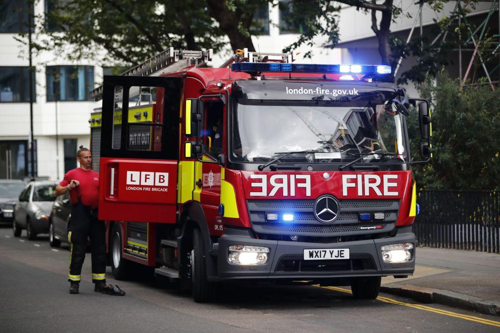 Firefighters tackle blaze at City office block - CityAM