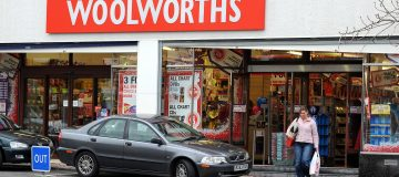 A Woolworths store is pictured in Bramha