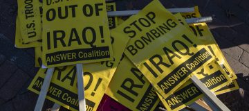 Anti-War Protesters Demonstrate Against Escalation Against Iran