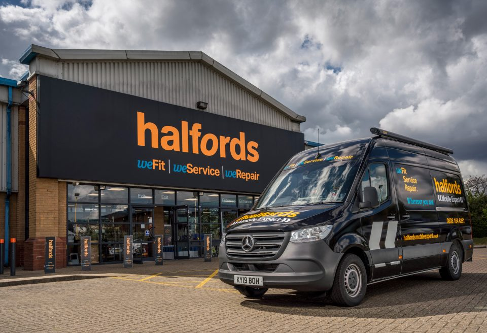 Shares in Halfords jumped over 20 per cent this morning as the firm said that the continuing numbers of new people taking to two wheels meant its half year profit would be higher than previously forecast.