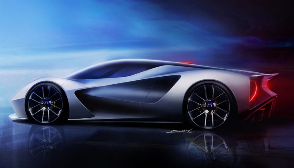 Sports car maker Lotus will build electric vehicles in the UK as part of a £2bn investment push aimed at massively increasing its production capacity.
