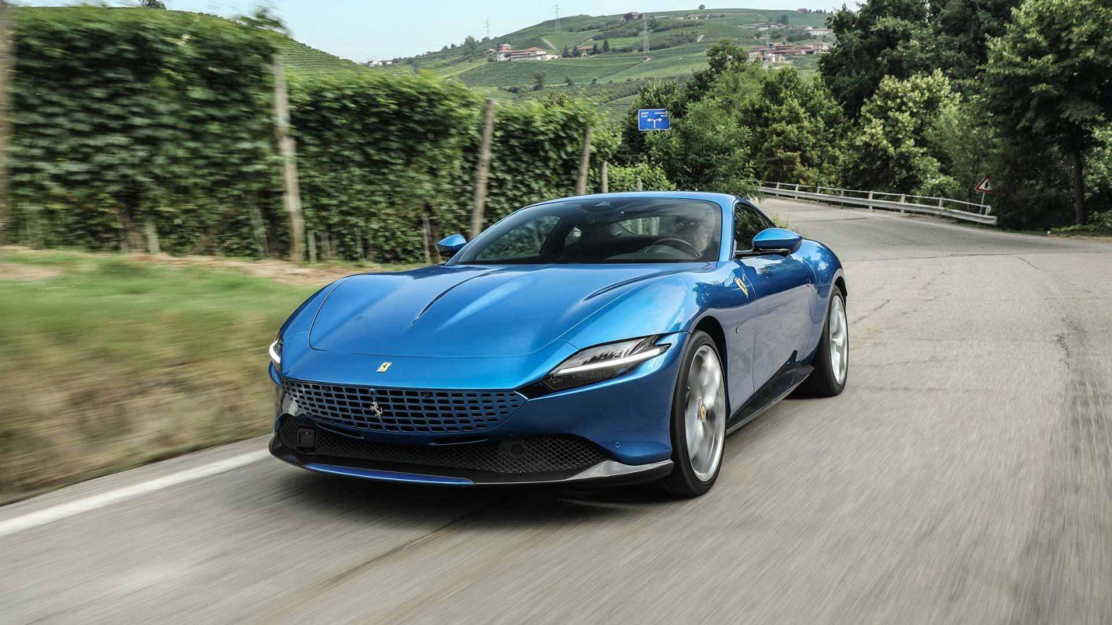 The Ferrari Roma Combines Classic Glamour With Supercar Performance Cityam
