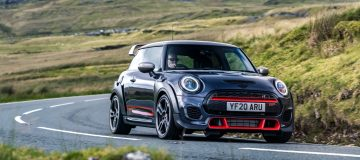 Hold on tight – the GP3 is fastest production Mini ever