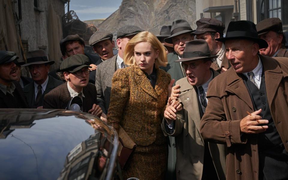 Lily James stars in Ben Wheatley's Rebecca adaptation