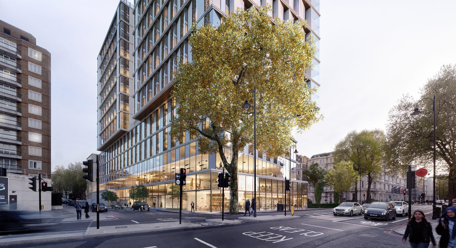 Investors back London's recovery with £1bn hotel redevelopment