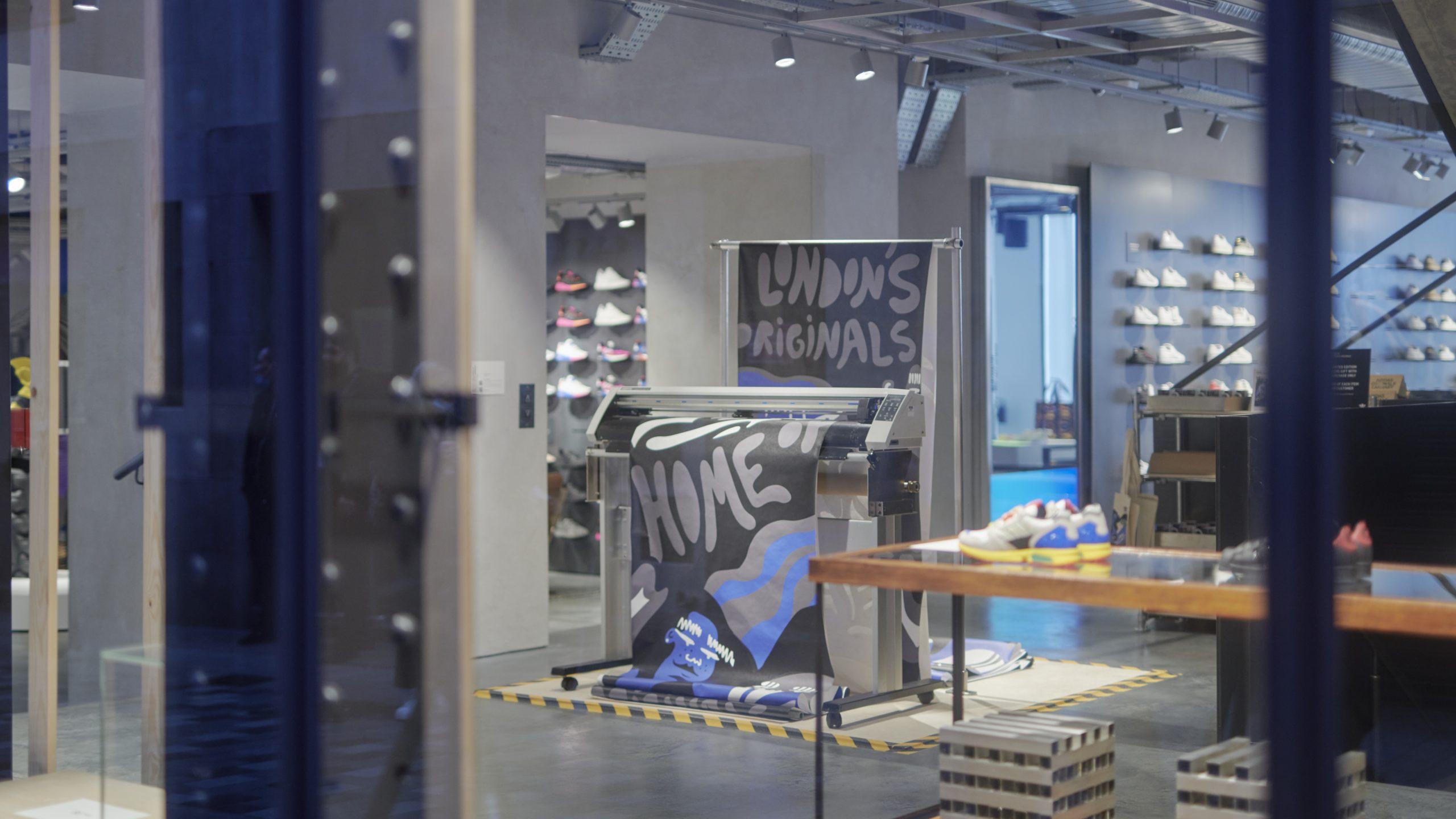 adidas open new flagship Originals