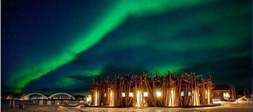 The Arctic Bath hotel in Swedish Lapland