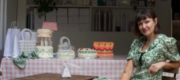 East London baker Lily Jones, who runs Lily Vanilli