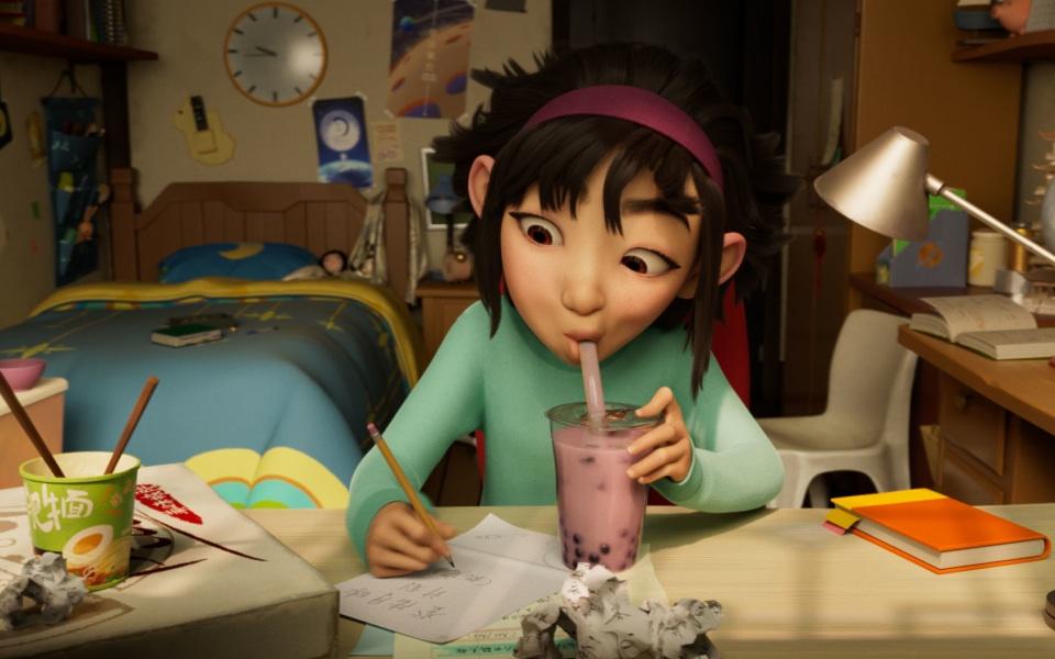 Netflix animation Over The Moon