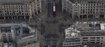 Aerial Views Of London In Lockdown