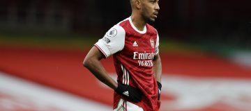 Aubameyang has netted just four times this season as Mikel Arteta has struggled to get Arsenal scoring